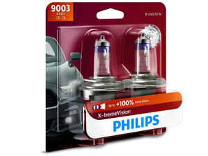 NEW! PHILIPS XTREME VISION 100% H4 9003XVB2 HEADLIGHT DRIVING LIGHTS | PACK OF 2