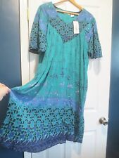 Sante' Classics  Medium  Ocean Breeze Patio Dress  NEW!