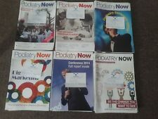 Bundle of 58 Podiatry Now Magazines (Chiropody) student professional 2011 2016