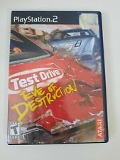 Test Drive: Eve of Destruction (Sony PlayStation 2 2004) PS2 Complete CIB Tested