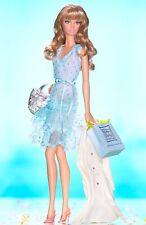 2005 Barbie Gold Label Cynthia Rowley Blue Dress Only.
