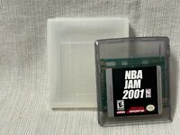NBA Jam 2001 Nintendo Gameboy Color Game Cartridge Authentic & Working