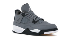 Nike Jordan 4 Retro PS Cool Grey Kids Shoes Size 13c BQ7669 007 New