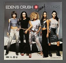 Edens Crush Autographed Signed Promotional POSTER FLAT SIGNED IN PERSON POPSTARS