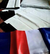 10X Enveloppe Plastique plusieurs formats Adhésif Blanche Opaque Indéchirable 60