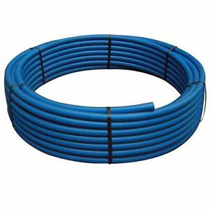 50MM X 25M MDPE BLUE WATER PIPE