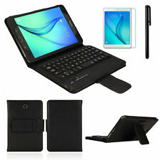 Removable Bluetooth Keyboard Leather Case For Samsung Galaxy Tab A 8.0 T350 Skin