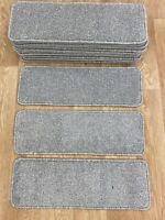 16 Carpet Stair Pads Treads Step Staircase Stain Free  61cm x 21cm