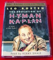 Leo Rosten The Education Of Hyman Kaplan BBC 2-Tape Audio Kerry Shale Humour