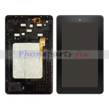 LCD Screen Display + Touch Digitizer + Frame For Amazon Kindle Fire 7 5th SV98LN