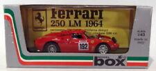Voitures de sport miniatures blancs Ferrari