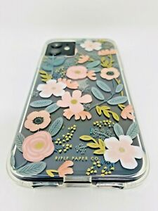 Rifle Paper Co Apple iPhone 11 And iPhone XR Case Wild Flowers Clear