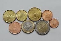SLOVENIA 2007 EURO COIN SET HIGH GRADE B24 YF27