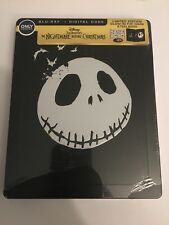 Nightmare Before Christmas  BEST BUY STEELBOOK Blu-Ray New Plastic Torn