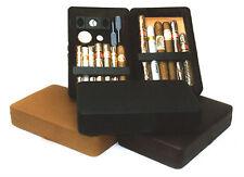 Csonka Cigar Valet humidor NEW blk, tan, brg, or gry