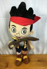 "Disney Jake And The Neverland Pirates Jake 14"" Plush Figure Disney Parks"