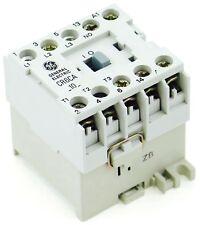 New GE Miniature Din Rail Magnetic Contactor CR6CAJ 48VAC Coil CA4-5-10-48 1NO