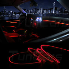 Car LED Interior Ambient Light Decorative lamp Optical fiber Light Door Light #2