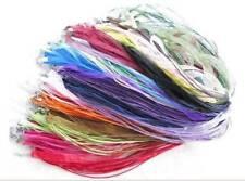 Wholesale 50pcs MIXED Color RIBBON VOILE CORD NECKLACES