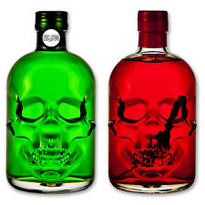 Absinthe Totenkopf Set: Amnesie 69,9%25 + Red Chili Head 55%25 - Wermut - Thujon
