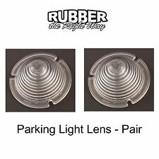 1954 Ford Passenger Car Parking Light Lenses - Pair