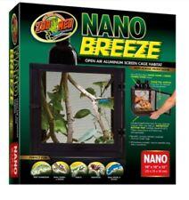 Zoo Med Nano Breeze Open Air Cage Reptile Lizard Chameleons Enclosure 10x10