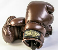 TopBoxer Old School Vintage Style Boxing Gloves