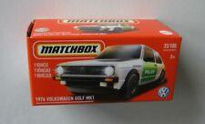 1976 VW Golf MK1 POLIZEI Volkswagen *** Matchbox Power Grab 2021 USA 1:64 NEU