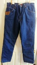 New Mens Wrangler Riggs Workwear Thinsulate Insulated 3M Thermal Jeans 36x36