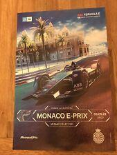 """Affiche Monaco E-PRIX 2021. État : """"Neuf"""""""