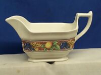 WEDGWOOD  SIENNA GRAVY BOAT NO UNDERPLATE
