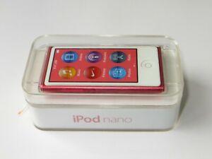 Apple iPod Nano 7th Generation 16GB MP3 Player - Pink
