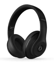 Matte Black Beats by Dr. Dre Studio 2.0 Wireless Headband Headphones
