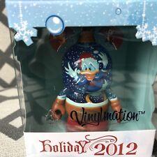 "Disney Vinylmation 3"" HOLIDAY 2012 DONALD DUCK Deck The Halls SEALED NEW Mickey"