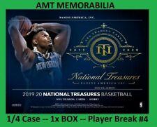 Carmelo Anthony 2019/20 Panini National Treasures 1/4X CASE 1X BOX BREAK #4