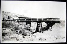 Hail Junction MO?~1920s CLOUDBURST TRAGEDY~TRESSLE~RPPC
