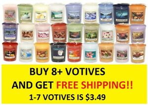 ☆☆VOTIVE CANDLES☆☆YANKEE CANDLE☆☆YOU CHOOSE☆☆BUY 8 OR MORE FOR FREE SHIPPING