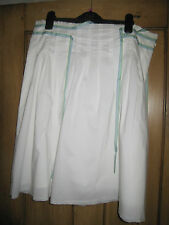Womens White Summer Skirt - Size 12