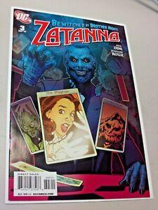 DC Comic Zatanna #3 DC Comics Comic Book High Grade