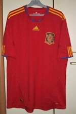 SPAIN 2010-2011 WORLD CUP HOME FOOTBALL SHIRT JERSEY CAMISETA ADIDAS SIZE 2XL