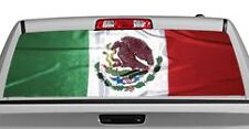 Truck Rear Window Decal Graphic [Flags / Mexican Flag] 20x65in DC82909