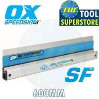 OX Speedskim SF 600mm Stainless Plastering Rule Fine Finishing Spatula P531060