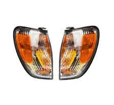 Pair Front Corner Turn Signal lamp Light Clear for Lexus LX470 LX 470 98-07