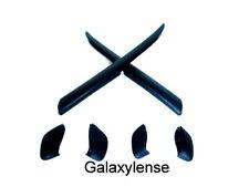 Earsock & Nose Pad Rubber Kits For Oakley Fast Jacket Sunglasses Black