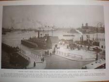 Netherlands De Ruyter kade printed photograph 1940