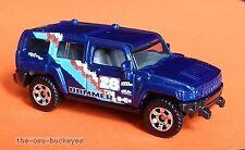 2008 Matchbox Loose Hummer H3 Dark Blue Hummer Logo Multi Pack Exclusive Cool
