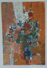 Raoul Pradier lithographie bouquet de fleurs prix de la critique p 621