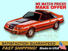 1983 1984 Mustang GT Decals & Stripes Kit