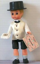 McD 2003 Madame Alexander DOLL Series #4 RING Carrier / BEARER White with Tag