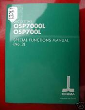 Okuma Cnc Systems Special Functs. Manual (No. 2): Pub No 3816-E (Inv.12261)